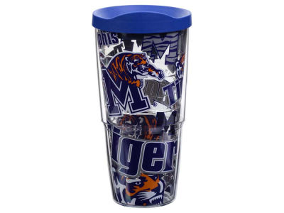 Memphis Tigers Tervis 24oz All Over Colossal Wrap Tumbler