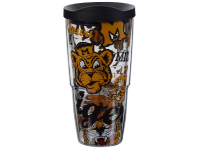 Missouri Tigers Tervis 24oz All Over Colossal Wrap Tumbler
