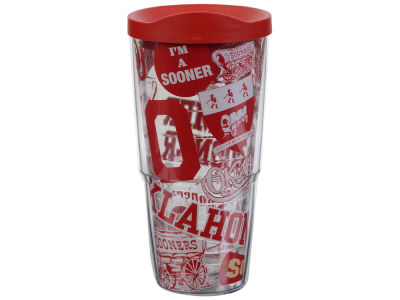 Oklahoma Sooners Tervis 24oz All Over Colossal Wrap Tumbler