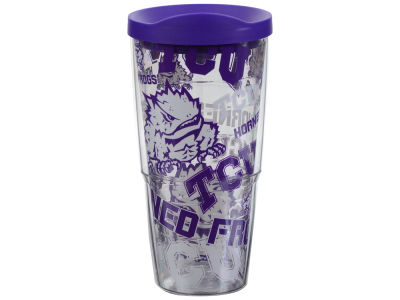 Texas Christian Horned Frogs Tervis 24oz All Over Colossal Wrap Tumbler