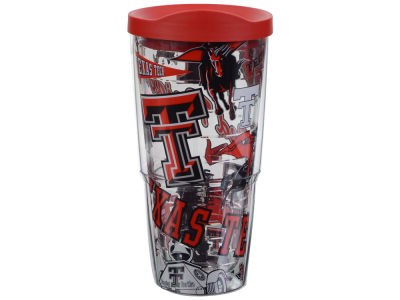 Texas Tech Red Raiders Tervis 24oz All Over Colossal Wrap Tumbler