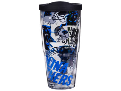 Carolina Panthers Tervis 24oz All Over Colossal Wrap Tumbler