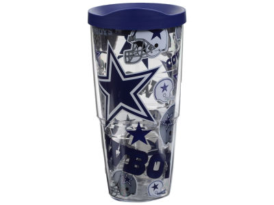 Dallas Cowboys Tervis 24oz All Over Colossal Wrap Tumbler