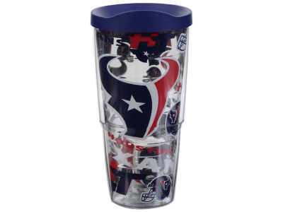 Houston Texans Tervis 24oz All Over Colossal Wrap Tumbler