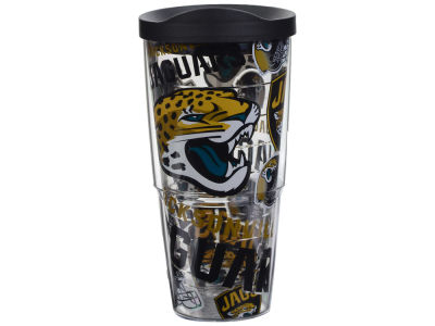 Jacksonville Jaguars Tervis 24oz All Over Colossal Wrap Tumbler