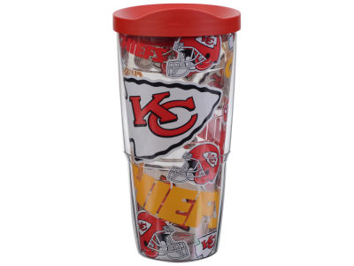 Kansas City Chiefs Tervis 24oz All Over Colossal Wrap Tumbler