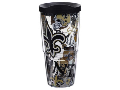 New Orleans Saints Tervis 24oz All Over Colossal Wrap Tumbler