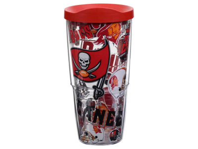 Tampa Bay Buccaneers Tervis 24oz All Over Colossal Wrap Tumbler