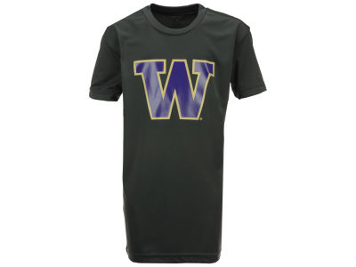 Washington Huskies Colosseum NCAA Youth Primary Logo Poly T-Shirt