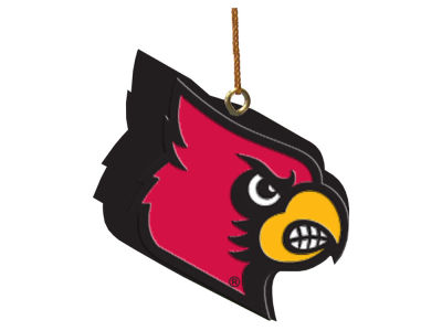 Louisville Cardinals 3D Logo Ornament