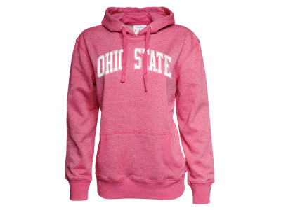 Ohio State Buckeyes NCAA Women's Glitter French Terry Hoodie