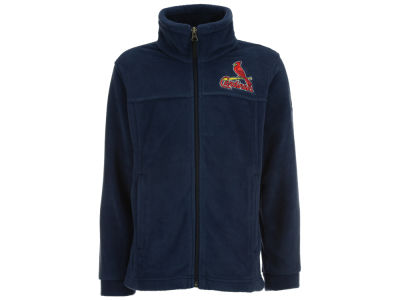 St. Louis Cardinals MLB Youth Flanker Full Zip Fleece Jacket