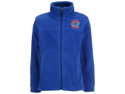 Chicago Cubs MLB Youth Flanker Full Zip Fleece Jacket