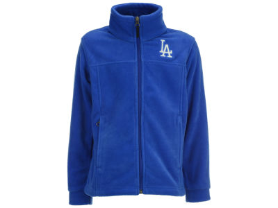Los Angeles Dodgers MLB Youth Flanker Full Zip Fleece Jacket
