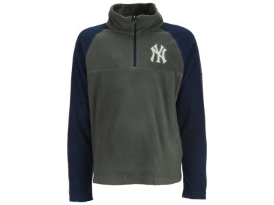 New York Yankees Majestic MLB Youth Glacial Half Zip Jacket