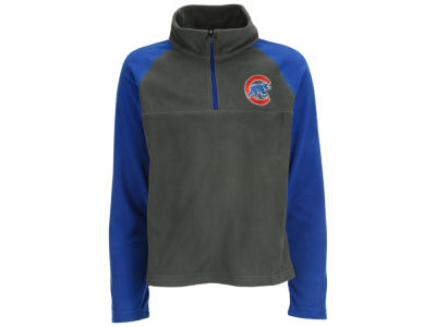 Chicago Cubs MLB Youth Glacial Half Zip Jacket