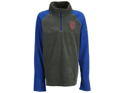 New York Mets Majestic MLB Youth Glacial Half Zip Jacket