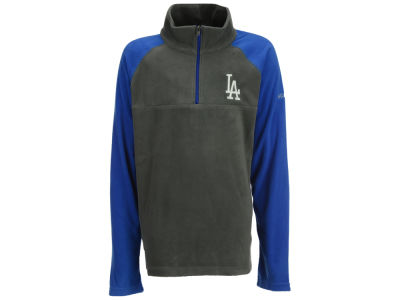 Los Angeles Dodgers Majestic MLB Youth Glacial Half Zip Jacket