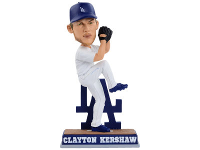 Los Angeles Dodgers Clayton Kershaw SMU Pitching Bobble