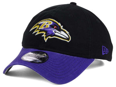 Baltimore Ravens New Era NFL Relaxed 2Tone 9TWENTY Strapback Cap