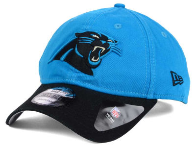 Carolina Panthers New Era NFL Relaxed 2Tone 9TWENTY Strapback Cap
