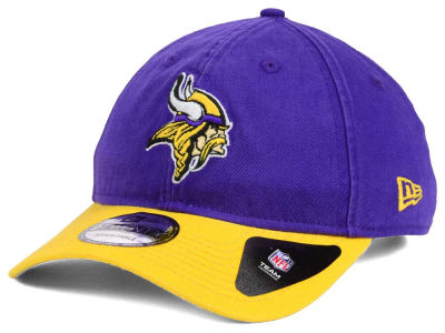 Minnesota Vikings New Era NFL Relaxed 2Tone 9TWENTY Strapback Cap