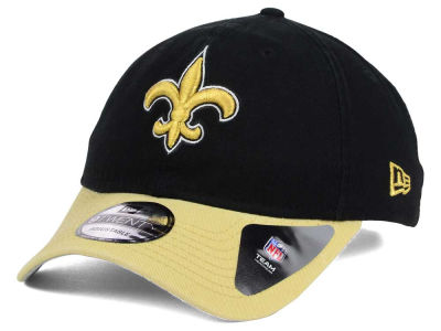 New Orleans Saints New Era NFL Relaxed 2Tone 9TWENTY Strapback Cap