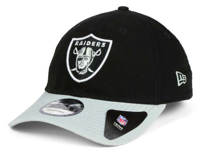 Oakland Raiders New Era NFL Relaxed 2Tone 9TWENTY Strapback Cap