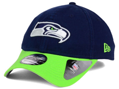 Seattle Seahawks New Era NFL Relaxed 2Tone 9TWENTY Strapback Cap