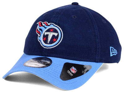 Tennessee Titans New Era NFL Relaxed 2Tone 9TWENTY Strapback Cap