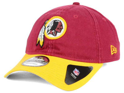Washington Redskins New Era NFL Relaxed 2Tone 9TWENTY Strapback Cap