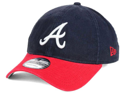 Atlanta Braves New Era MLB Relaxed 2Tone 9TWENTY Strapback Cap