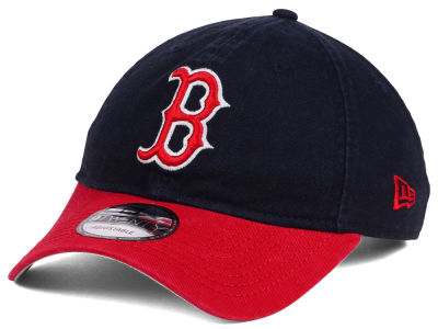 Boston Red Sox New Era MLB Relaxed 2Tone 9TWENTY Strapback Cap