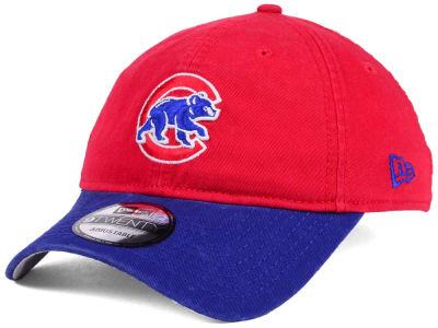 Chicago Cubs New Era MLB Relaxed 2Tone 9TWENTY Strapback Cap