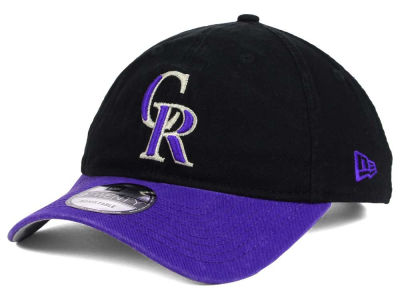 Colorado Rockies New Era MLB Relaxed 2Tone 9TWENTY Strapback Cap