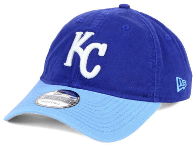 Kansas City Royals New Era MLB Relaxed 2Tone 9TWENTY Strapback Cap