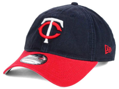 Minnesota Twins New Era MLB Relaxed 2Tone 9TWENTY Strapback Cap