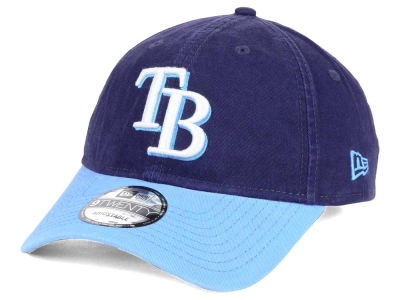Tampa Bay Rays New Era MLB Relaxed 2Tone 9TWENTY Strapback Cap