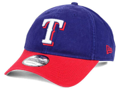 Texas Rangers New Era MLB Relaxed 2Tone 9TWENTY Strapback Cap