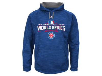 Chicago Cubs MLB Men's 2016 World Series Participant Hoodie