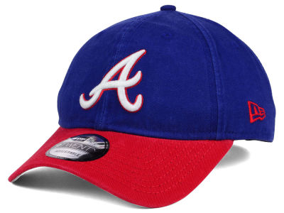 Atlanta Braves New Era MLB Coop Core Classic 2Tone 9TWENTY Strapback Cap