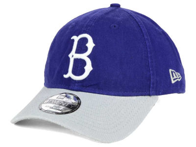 Brooklyn Dodgers New Era MLB Coop Core Classic 2Tone 9TWENTY Strapback Cap