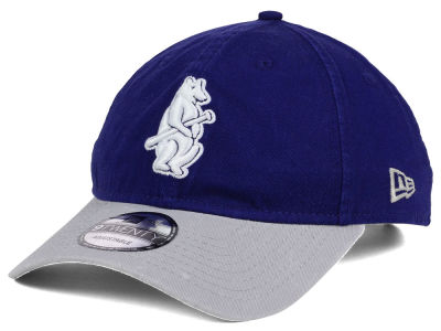 Chicago Cubs New Era MLB Coop Core Classic 2Tone 9TWENTY Strapback Cap