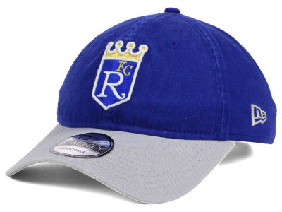 Kansas City Royals New Era MLB Coop Core Classic 2Tone 9TWENTY Strapback Cap
