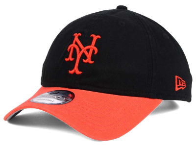 New York Mets New Era MLB Coop Core Classic 2Tone 9TWENTY Strapback Cap