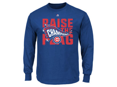 Chicago Cubs MLB Men's 2016 League Champ Long Sleeve T-Shirt
