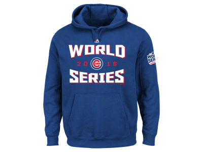 Chicago Cubs MLB Men's 2016 World Series Team Tude Patch Hoodie