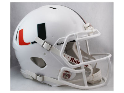 Miami Hurricanes Reason Speed Authentic Helmet