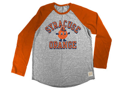 Syracuse Orange Retro Brand NCAA Youth Raglan Long Sleeve T-Shirt