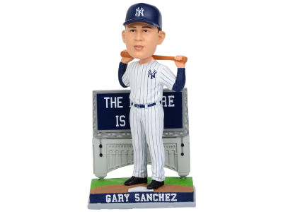 New York Yankees Gary Sanchez SMU Billboard Bobble Head